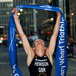 Canary Wharf Triathlon 2012
