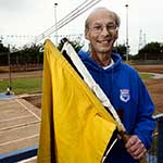 Cycle Speedway - Steve Rumbold, Flag Man